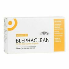 100 x Blephaclean Sterile Pads for Daily Hygiene of Eye Lids Preservative Free