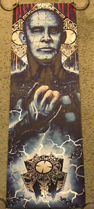 Hellraiser Pinhead Clive Barker Foil Print Poster Mondo Horror Steven Holliday