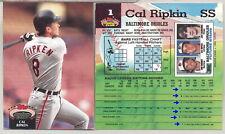 1992 Stadium Club Baseball Card Printer Variations 501-600 Listing 6/9 You Pick