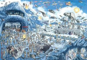 Star Wars - Search Inside: Battle of Hoth - 2000 Piece Jigsaw Puzzle