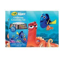 Crayola Disney Finding Dory Undersea Creativity Kit Coloring Crayons Markers 125