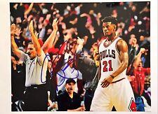 Jimmy Butler Signed Autograph Auto 11x14 Photo COA Chicago Bulls