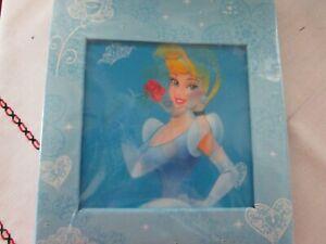 Disney 4x6 photo album - Cinderella Blue