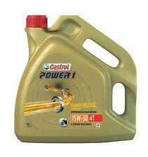 15044F - CASTROL POWER 1 4T MOTORCYCLE OIL 15W50 4 LTR.