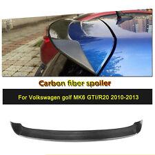 Hinten Dachspoiler Flügel Oben Lippen Passend für VW Golf 6 VI MK6 R20 GTI 10-13