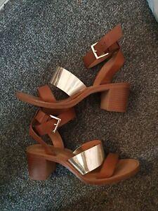 Ladies Zara Sandals Size 3