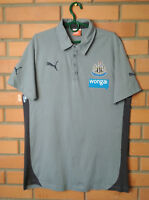 Newcastle United Jersey Shirt MEDIUM Polo Soccer Football Puma Trikot Maglia
