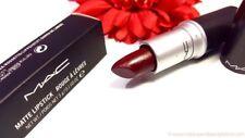 MAC matte lipstick - DIVA (deep red/burgundy) - new boxed