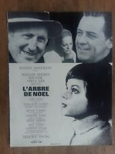 Dossier DE presse L'ARBRE DE NOEL Terence YOUNG BOURVIL William HOLDEN