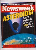 NEWSWEEK magazine-mar 23,1998-ASTEROIDS.