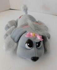 Animated Grey Pound Puppies Puppy Dog 2000 Jakks with Tags Plush