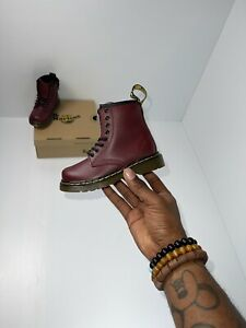 Dr. Martens Toddlers Child 1460 US Size 7 Cherry Red 15933602