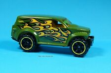 2012 Hot Wheels Loose Green Power Panel Flames Multi Pack Exclusive Brand New