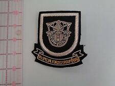 5th Special Forces Group (Current)  Large Bullion Pocket Patch   Green Berets