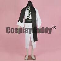 Pokemon Pocket Monsters Unova Elite Four Grimsley Kimono Cosplay Costume F006