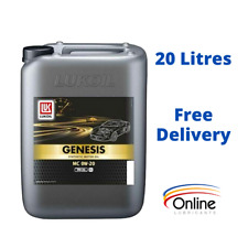 20L LUKOIL GENESIS MC 0w20 Fully Synthetic Engine Oil SAE MB 229.71 Approved