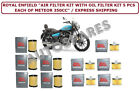 """ROYAL ENFIELD """"AIR FILTER KIT WITH OIL 5PCS EACH OF METEOR 350CC"""""""