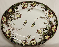 """Antique Oval Charger """"Poppy"""" - Grimwade Bros"""