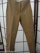 Margaret Godfrey Tan Leather Pants Size 8 NWOT