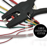 new Flat Nose Self-Adjusting Insulation Wire Cable Pliers Stripper Cutter Tool