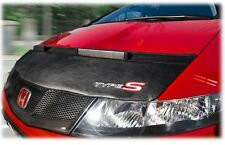 BONNET BRA for HONDA CIVIC 8 2006 - 2012 WITH EMBROIDERED Type S Logo STONEGUARD