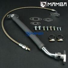 Mitsubishi 4G63T EVO 4~9 w/ Greddy T67 TD06SH 25G turbo oil feed & return line