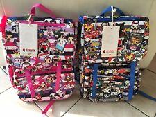 Zaini Invicta Jolly 3 Tokidoki 15 Litri Lotto 2 backpack Personaggi Giapponesi