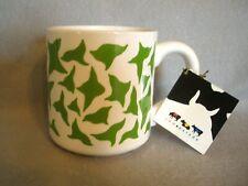 """COW PARADE 2002 MUG~""""CLEAN JEAN THE GREEN HOLSTEIN""""~#7081~NWT~RARE~COW FIGURE"""