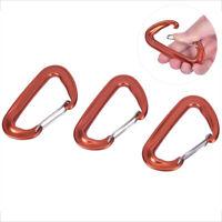 7075 Aluminum Climbing Buckle 12KN Hammock Safety Balance Carabiner Clasp-
