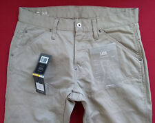 Vaqueros G-STAR RAW 5620 Elwood 3D Tapered Color Jeans W31 L34 Khaki Beige