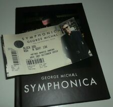 CD George Michael Symphonica Deluxe Edition Digipak with Unused UK Ticket WHAM!