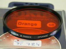 Original Cokin Filter Foto Photo Lens Kamera Camera Orange 58mm 58 E58 FI784(6)