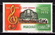 Hungary 1975 Sc2385  Mi3080A 1v  mnh  Franz Liszt Musical Academy, centenary