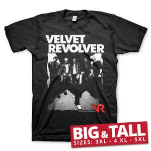 Officially Licensed Velvet Revolver BIG & TALL 3XL, 4XL, 5XL Men's T-Shirt