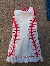 girls dress, size 6/7, boutique, baseball, sister, summer
