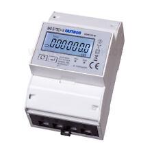 Drehstromzähler Bidirektional mit Modbus für DIN Hutschiene Stromzähler NEU 100A
