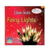 100 CLEAR FAIRY LIGHTS CHRISTMAS XMAS BIRTHDAY PARTY INDOOR DECORATION BULB 7522