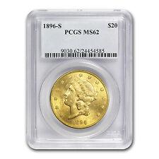 $20 Liberty Gold Double Eagle MS-62 PCGS (1800s S-Mint) - SKU #66831
