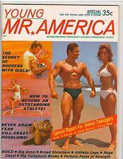Young MR AMERICA bodybuilding muscle bodybuilder magazine/JOHN TRISTRAM 7-64
