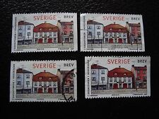 SUEDE - timbre yvert et tellier n° 2022 x4 obl (A29) stamp sweden (E)