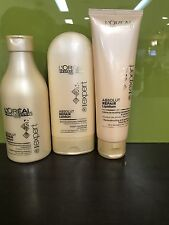 L'OREAL PROFESSIONAL ABSOLUTE REPAIR LIPIDIUM SHAMPOO + CONDITIONER + CREME
