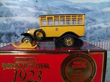1/49 Matchbox  collectibles 1923 Scania Vabis Post Bus Y16