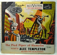 The Pied Piper of Hamelin 2-78 Storybook Children w/ Picture Sleeve Plays Great