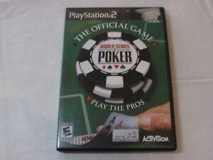World Series of Poker Sony PlayStation 2 PS2 2005 E10+ Everyone 10+ Cassino Card