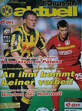 Programm 2000/01 Borussia Dortmund - Bayer Leverkusen