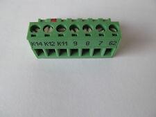 Lenze Frequenzumrichter  Anschlußklemmen / Klemmen  K14 - 62  für  EVF8200 / EVF