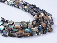 0198 7mm Abalone shell loose beads 15""