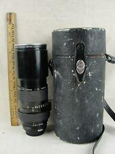 Nikon Nikkor 300mm 1: 4.5 Manual Focus Lens Made In Japan With Cap & Case
