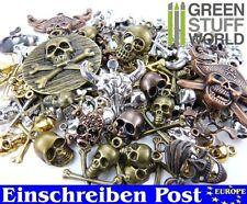 PIRATEN Schädel Steampunk-Sets 85gr - Anhänger - Schmuck Gothic - Totenkopf