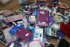 Job lot de mixte gamme de housse peau pour divers téléphones mobiles - 50 pièces